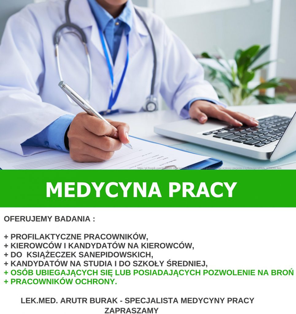 badania medycyny pracy